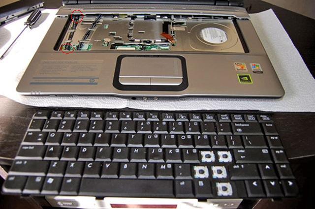 Ремонт клавиатуры ноутбука Acer в СПб
